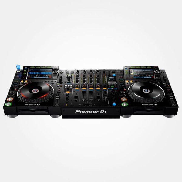 Pioneer Nexus 2 DJ set - 2x CDJ2000NXS2 + 1x DJM900NXS2 huren