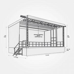Mobiel-podium