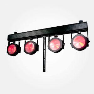 American-DJ-Dotz-TPar-System-met-4-x-30-Watt-COB-Tri-RGB-LEDs
